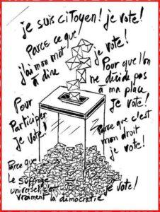 Je suis citoyen, je vote !